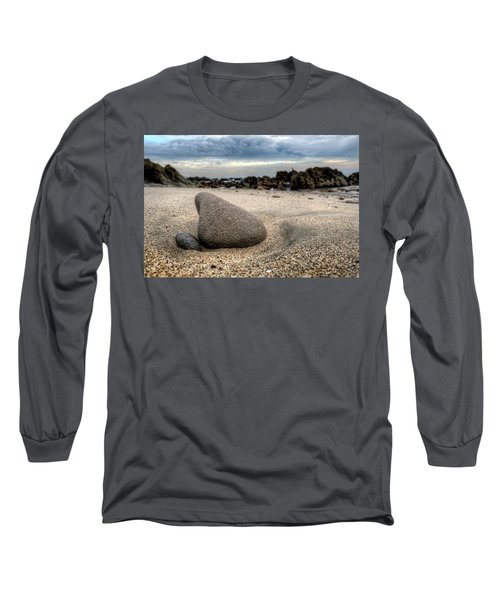 Rock On Beach Long Sleeve T-Shirt
