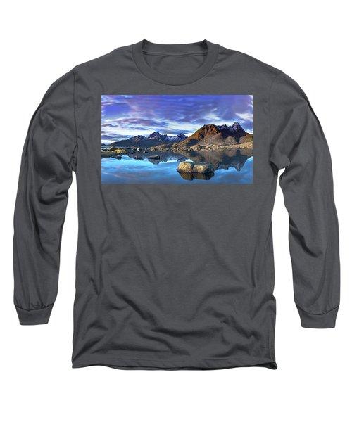 Rock Reflection Landscape Long Sleeve T-Shirt