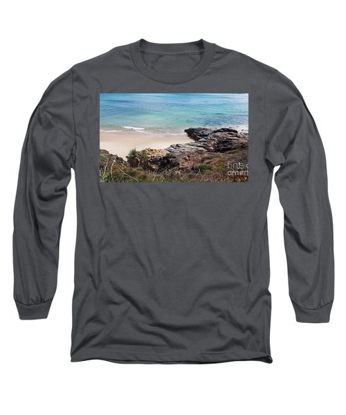 Rocks Sand And Water  Long Sleeve T-Shirt
