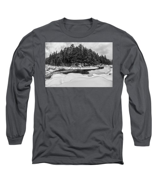 Rocky Gorge N H, River Bend 1 Long Sleeve T-Shirt