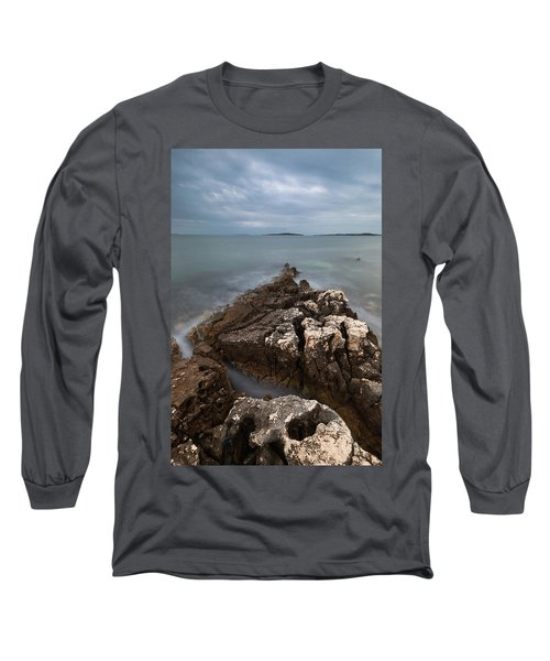 Long Sleeve T-Shirt featuring the photograph Rocky Triangle by Davor Zerjav