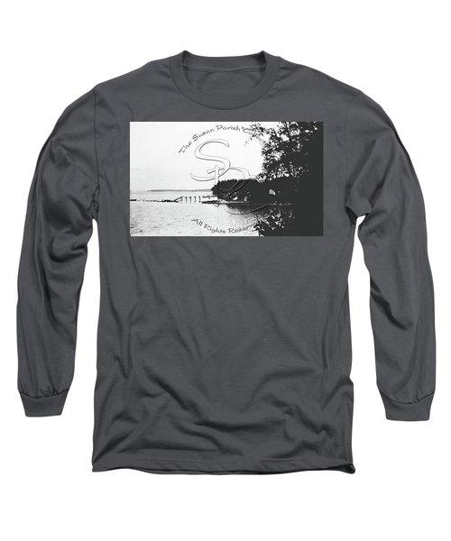 Rohr's Dock, Boston Harbor, 1932 Long Sleeve T-Shirt