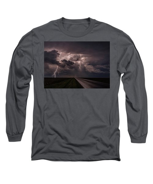 Rollin On Down The Road Long Sleeve T-Shirt