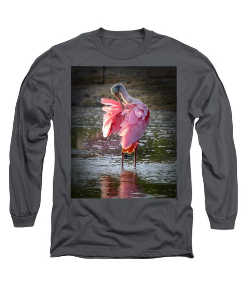 Roseate Spoonbill Long Sleeve T-Shirt