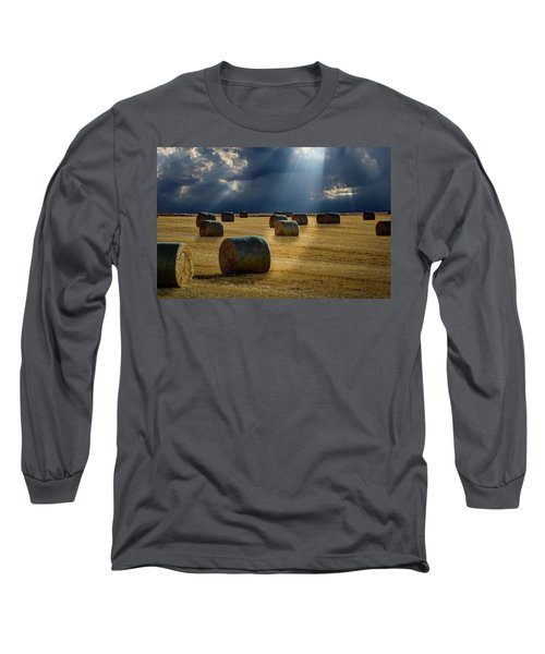 Round Bales Long Sleeve T-Shirt