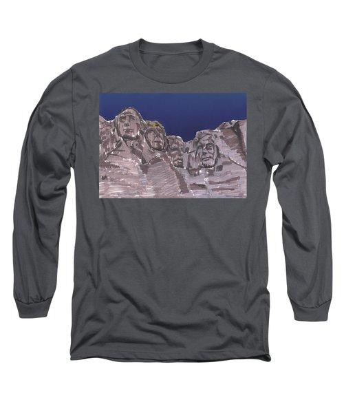Rushmore Markers Long Sleeve T-Shirt