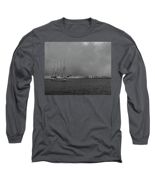 Sail In The Fog Long Sleeve T-Shirt