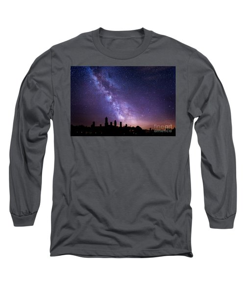 Long Sleeve T-Shirt featuring the photograph San Gimignano Stars by Scott Kemper