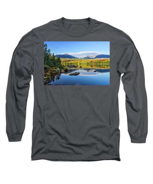 Sandy Stream Pond Baxter Sp Maine Long Sleeve T-Shirt