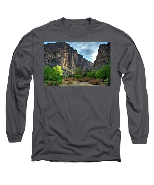 Santa Elena Canyon Long Sleeve T-Shirt