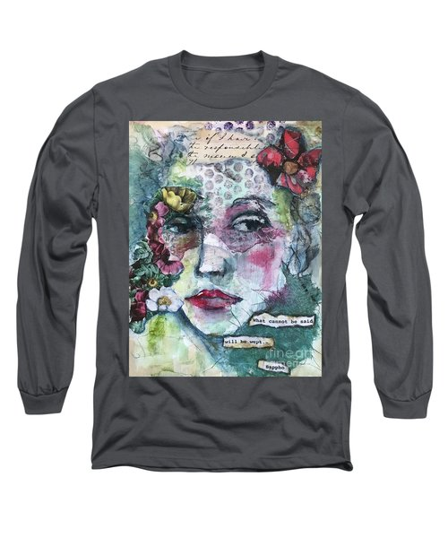 Sappho's Quote Long Sleeve T-Shirt