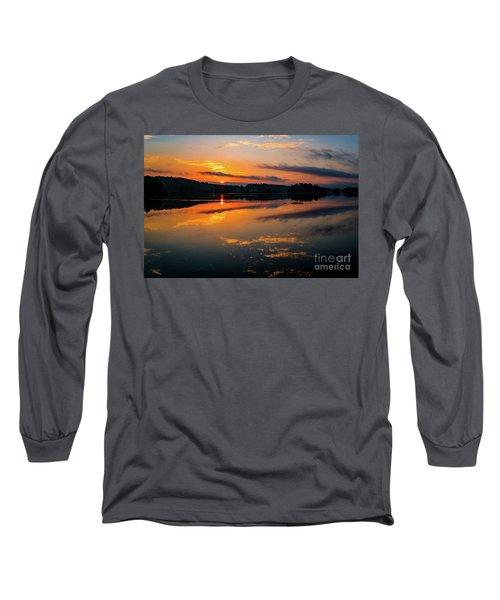 Savannah River Sunrise - Augusta Ga 2 Long Sleeve T-Shirt