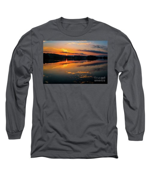 Savannah River Sunrise - Augusta Ga 2 Long Sleeve T-Shirt