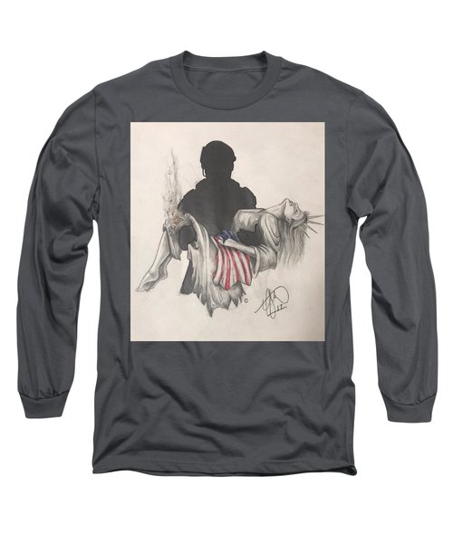 Saving Liberty Long Sleeve T-Shirt
