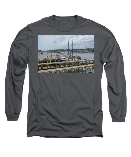 Scenic Harbor Long Sleeve T-Shirt