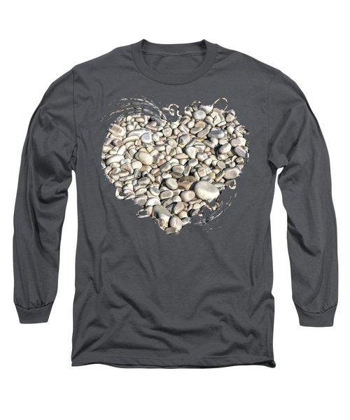 Schoolhouse Beach Rocks On Washington Island Door County Long Sleeve T-Shirt