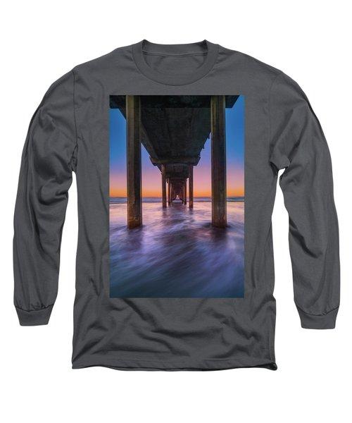 Scripps Pier - 2 Long Sleeve T-Shirt