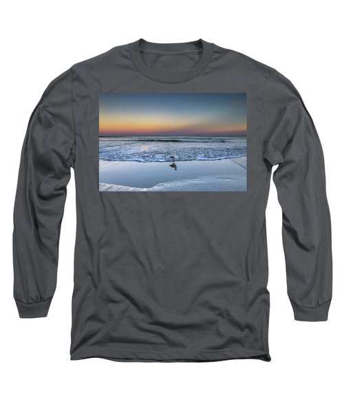 Seagull On The Beach Long Sleeve T-Shirt