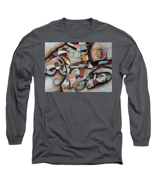 Semi-solid Ground Long Sleeve T-Shirt
