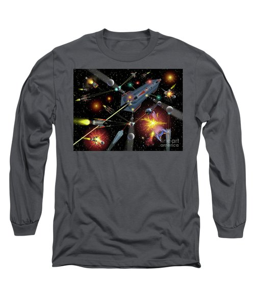 Sferogyls Space Battle Group Long Sleeve T-Shirt