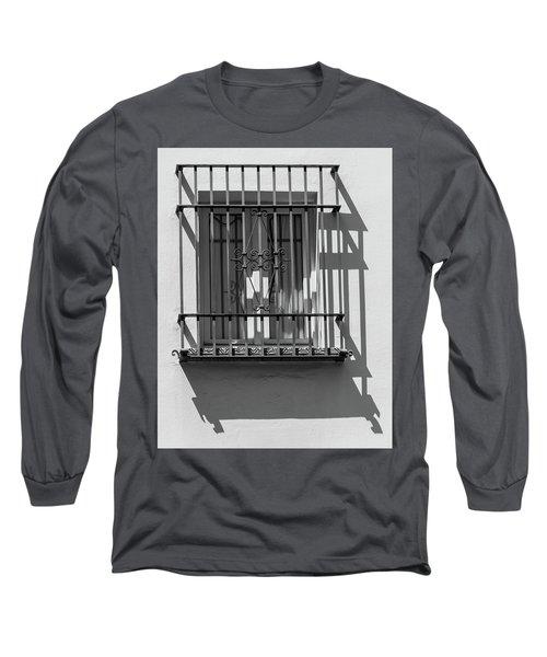 Shadow Window Of Spain Long Sleeve T-Shirt