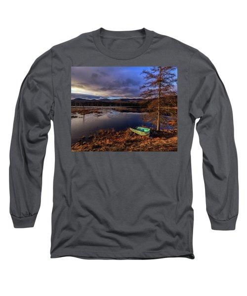 Shaw Pond Sunrise - Landscape Long Sleeve T-Shirt