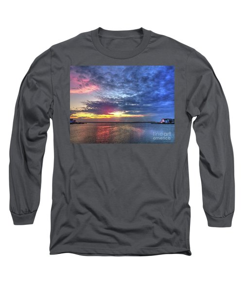 Ship Bottom Sunset Long Sleeve T-Shirt