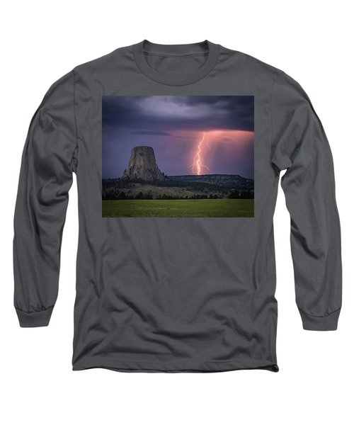 Showers And Lightning Long Sleeve T-Shirt