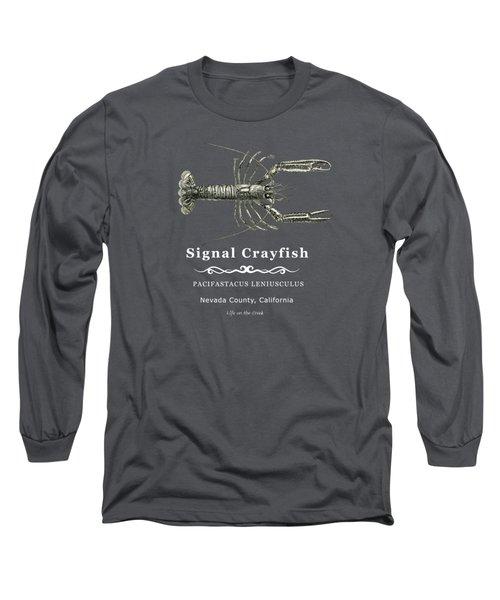 Signal Crayfish Long Sleeve T-Shirt