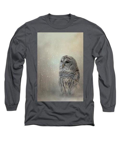 Silent Snow Fall Long Sleeve T-Shirt