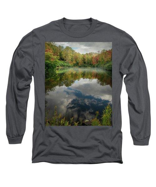 Sims Pond Blowing Rock North Carolina Long Sleeve T-Shirt