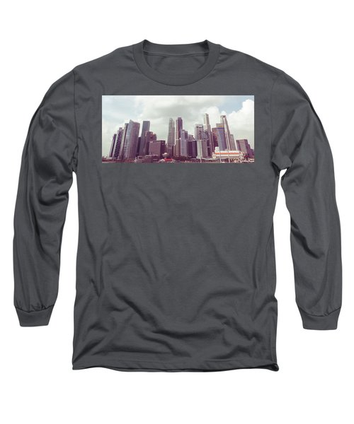 Singapore Cityscape The Second Long Sleeve T-Shirt