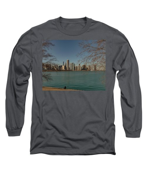 Sitting On A Summer Day Long Sleeve T-Shirt