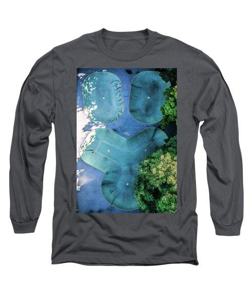 Skatepark - Aerial Photography Long Sleeve T-Shirt