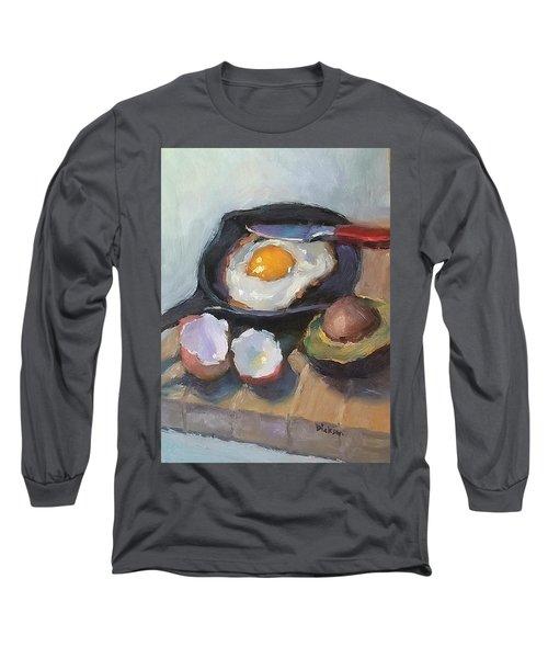Skillet Breakfast Long Sleeve T-Shirt