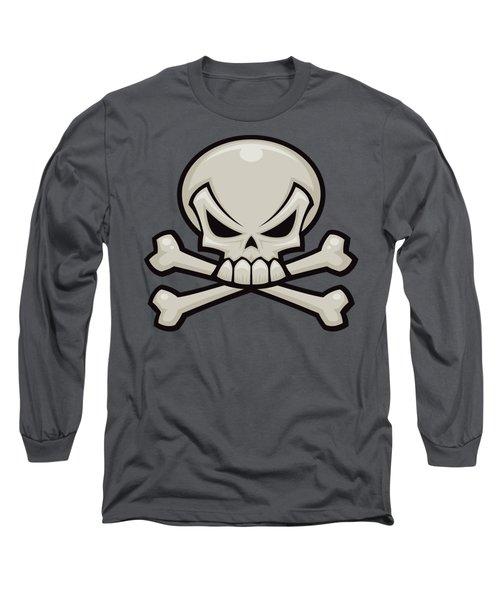 Skull And Crossbones Long Sleeve T-Shirt