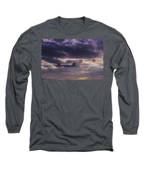 Sky Fisherman Long Sleeve T-Shirt