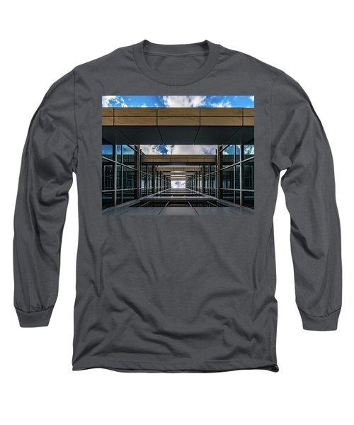 Long Sleeve T-Shirt featuring the photograph Sky Tunnel by Randy Scherkenbach