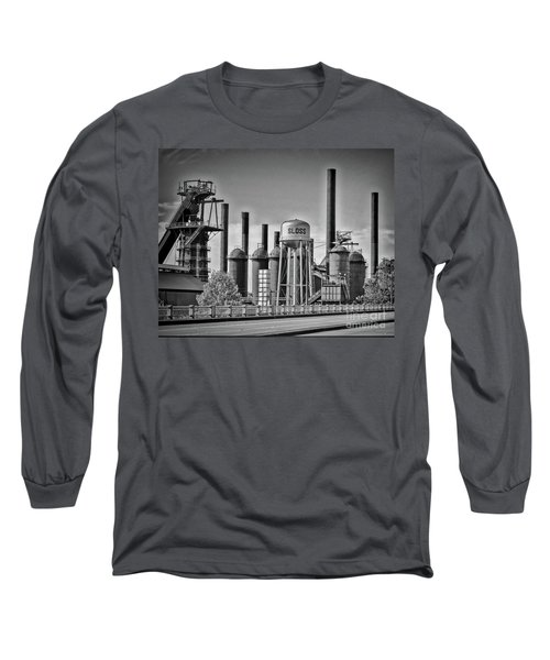 Sloss Furnaces Towers Long Sleeve T-Shirt
