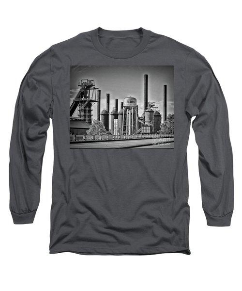 Sloss Furnaces Towers Long Sleeve T-Shirt