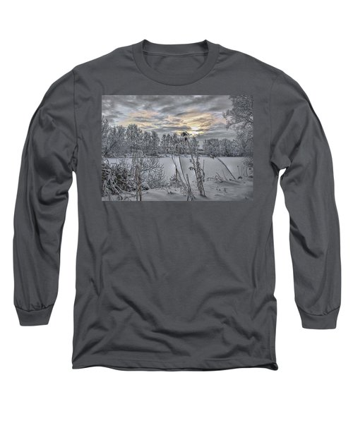 Snow #i3 Long Sleeve T-Shirt
