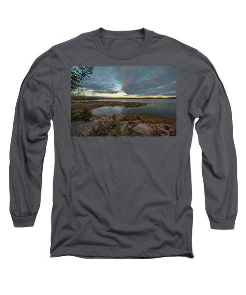 Somes Sound Sunset Long Sleeve T-Shirt