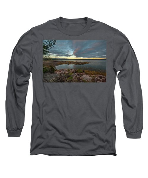 Somes Sound Sunset Long Sleeve T-Shirt