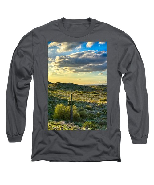 Sonoran Desert Portrait Long Sleeve T-Shirt