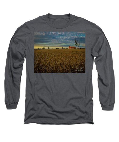 Soybean Sunset Long Sleeve T-Shirt