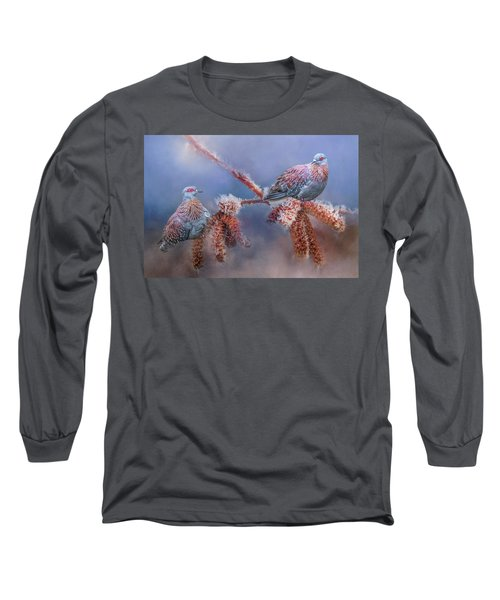Speckled Pigeons Long Sleeve T-Shirt