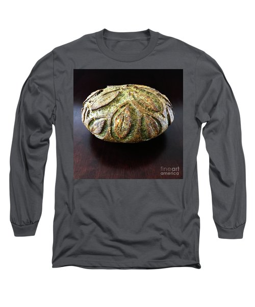 Spicy Spinach Sourdough 2 Long Sleeve T-Shirt