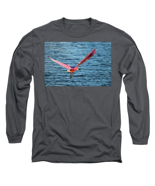 Spoonbill Wingspan Long Sleeve T-Shirt