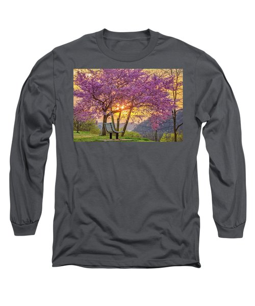 Spring Bench In Beaver 2 Long Sleeve T-Shirt