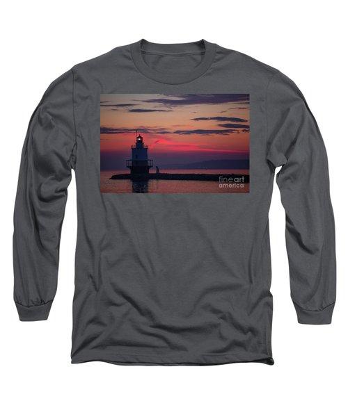 Spring Point Ledge Lighthouse Long Sleeve T-Shirt